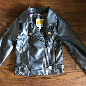 Faux leather 3T jacket